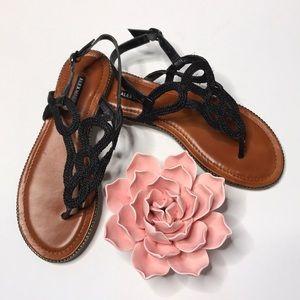 Alex Marie black sandals